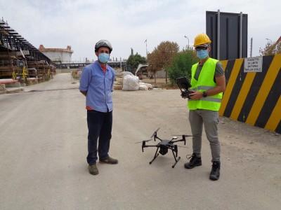 Ispezioni d'impianto con Sistema aereomobile a pilotaggio remoto con drone (SAPR)